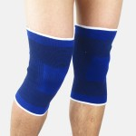 1 Pair Knee Support Brace Leg Arthritis Injury Gym Sleeve Elasticated Bandage Pad Basketball football badminton volleyball Pad