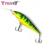 10 Colors iscas artificiais para pesca Fishing lures 11cm 10.5g wobblers jig crankbait swimbait fishing tackle YE-73Y
