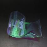 10 Pieces 10 X 5.5 cm Fly Tying Rainbow Film Sabiki rig Shrimp Back Wings Scud Nymph Tying Clear Flash Film Fly Tying Materials