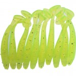 10 pcs /pack 7.1 g/5cm for Fishing Worm Swimbait Jig Head Soft Lure Fly Fishing Bait Fishing Lure