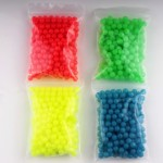 100 pcs of Glow Beads Round 8mm Rigs Making Luminous Fishing Beads