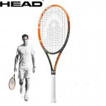 100% Genuine Head Murray Yt Gra.radical L4 Mp Full Carbon Tennis Racket Raquete De Tenis Strung