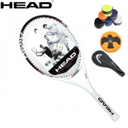 100% Orginal Head primary tour Tennis racket with Strung Women Men Tennis Racket Raquetas De Tenis  Raquette Tennis