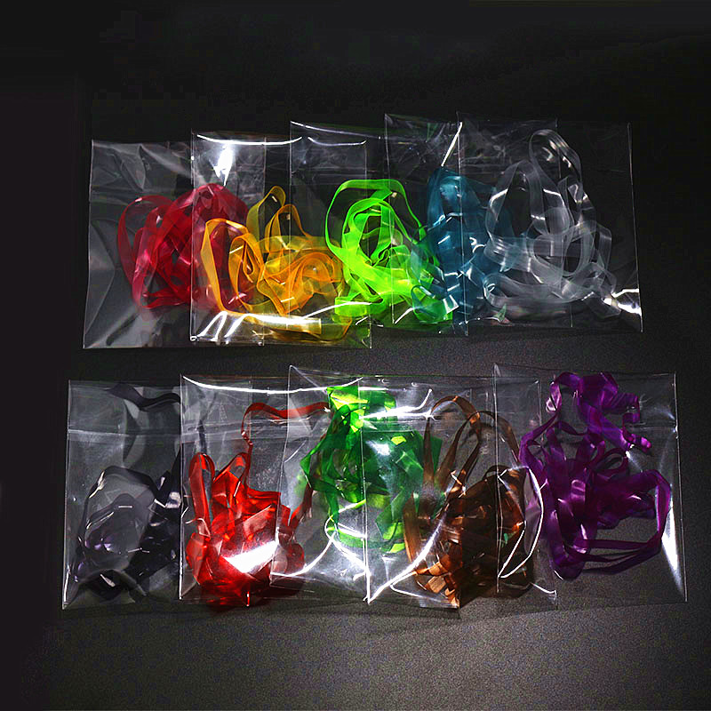 12 Colors 6mm Width Elastic Scud Back//Nymph Stretch Sink Skin Fly Tying Material