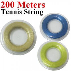 200m/Reel Tennis String Alu Power Rough 125 Big Banger Tennis String 16L Polyester String