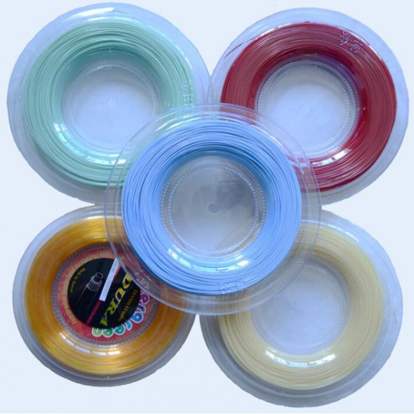 (200m/reel) Sport Tennis Racket String Polyester Racquet Rough 125 17G ALU Power Tennis String Tennis Racket Line