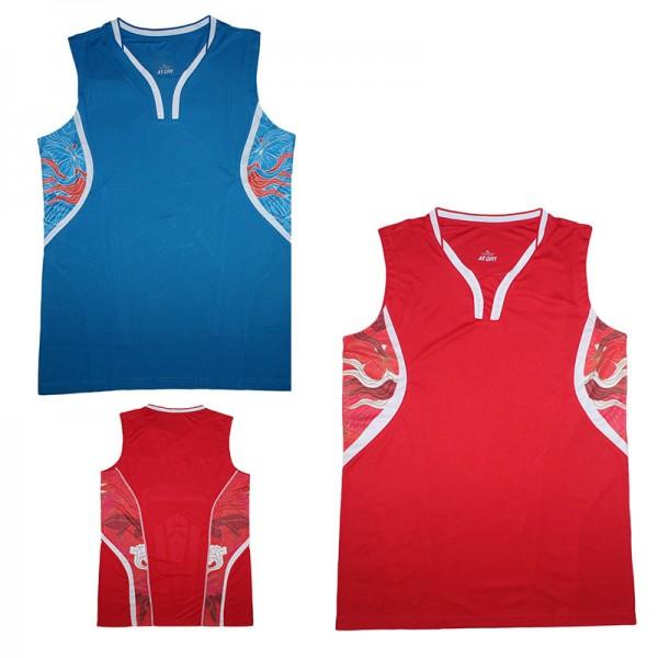 "2016 Game CHINA Team Badminton Men's shirt  , CHEN LONG Badminton sleeveless Jerseys , no ""CHINA"" , Badminton vest Uniforms"