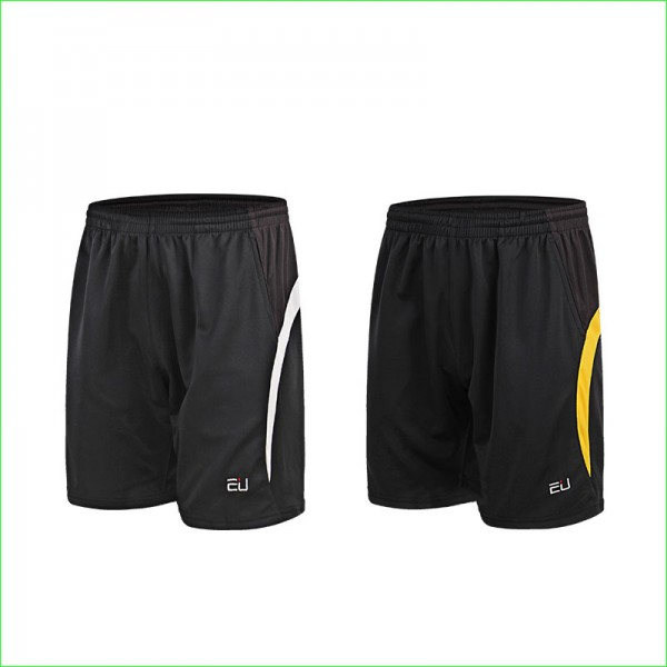 2016 New Quick Dry Tennis Sports Shorts Man Badminton Polyester Shorts with Elastic Waist