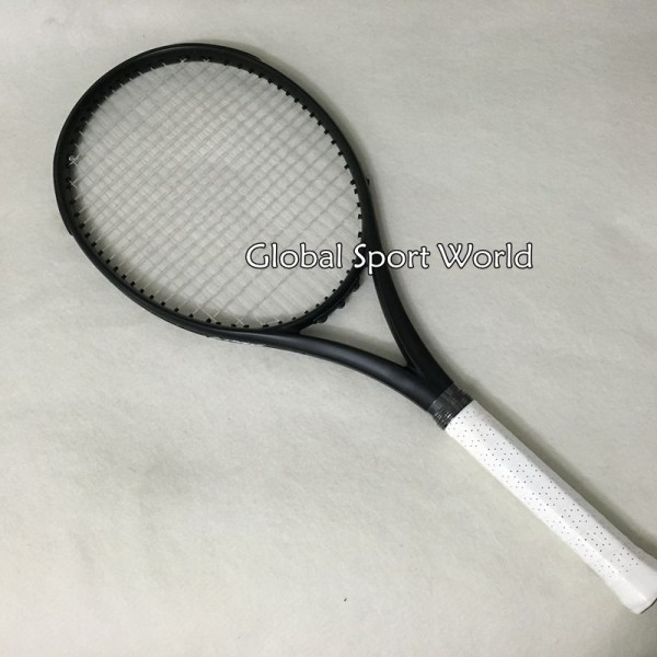 2016 NEW Taiwan 2015 customs Black Tennis Racquets 100% graphite tennis rackets 41/4,43/8,41/2 Free shipping
