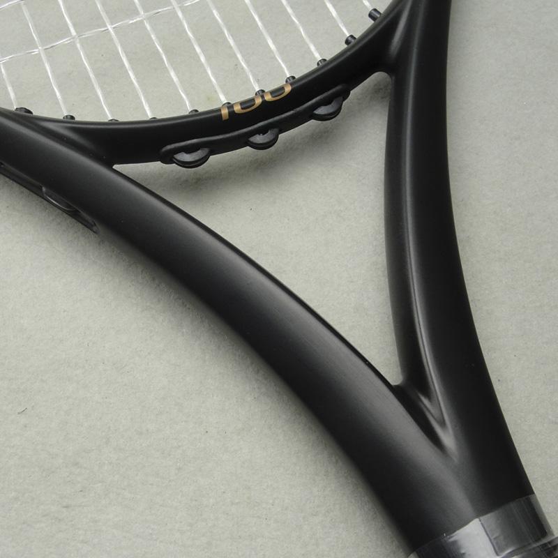 2016 New Apd Nadal Tennis Racket 300g 16x19 100 Carbon Genuine Customs Black Tennis Racquets