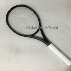 2016 New taiwan custom black Racquet  tennis racket tennis racket carbon Foamed handle L2 L3 L4