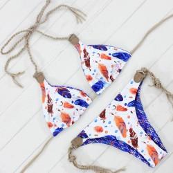 7c86dba116 2017 New Reversible Swimwear Bikinis Sexy Women Brazilian Swimsuit Double  Sides Biquinis Braided Bathing Suit Maillot