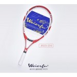 2017 free shipping Genuine WEIERFU WILF Children's one-piece tennis racket beginner short 23- 25inch