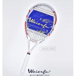 2017 free shipping Genuine WEIERFU WILF Children's one-piece tennis racket beginner short 23- 25inch