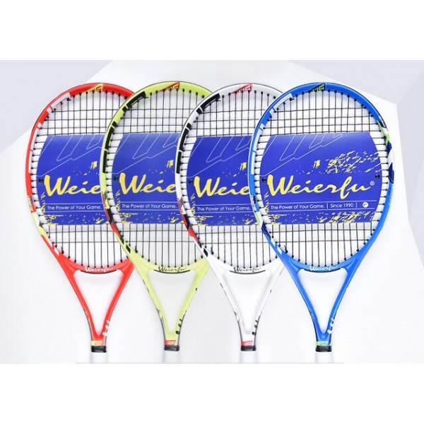 2017 free shipping New Liangjian sports new authentic Wilf 699 tennis racket training competition fitness supplies