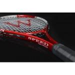 2017 free shipping  Werkon Weierkang aluminum alloy tennis racket red plus blue