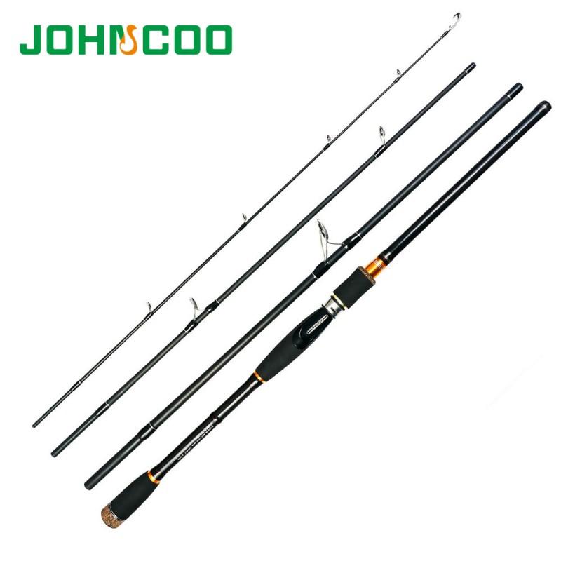 2.1M 3.0M Carbon Fiber Fishing Rod Travel Spinning Lure Rod Sea Saltwater Pole