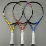 23/25 Inch Junior Carbon Fiber Starter Tennis Racquet Training Racket for Kids Youth Childrens Tennis Rackets With Bag Cover