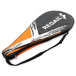 2 Colors REGAILTennis Racket Raquete De Tennis Carbon Aluminum Alloy Frame Regular Grade Unisex Tennis Racket Cellosilk Thread