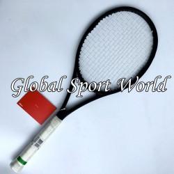 90 sq.in. 319g Pure Black  taiwan 100% graphite customized tennis Racket/Racquet tennis racket Grip size L2,L3 L4