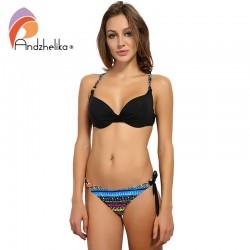 110a41a1a87ed Andzhelika Bikini 2017 New Women Summer Swimsuit Vintage Bottoms Sexy Bikini  Sets Swim Suit Beach Bathing