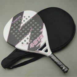 CAMEWIN 4019 Carbon Fiber Paddle Tennis Racquet  Racket