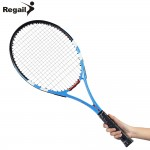 Carbon Aluminum Alloy Frame Tennis Racket Shock Reduce Tennis Initial Training Matches Men Women Regular Grade Tennis Racket