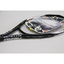 Carbon beginner tennis racket  single only to send sweatband tennis