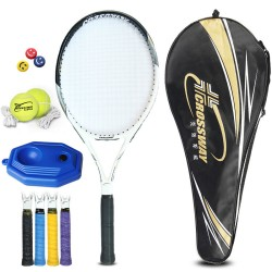 Close's tennis racket 720 beginners / Junior advanced carbon single shot racquet with professional training and competition for