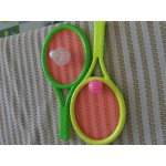 Double usage Badminton rackets tennis rackets  children outdoor sports tool game