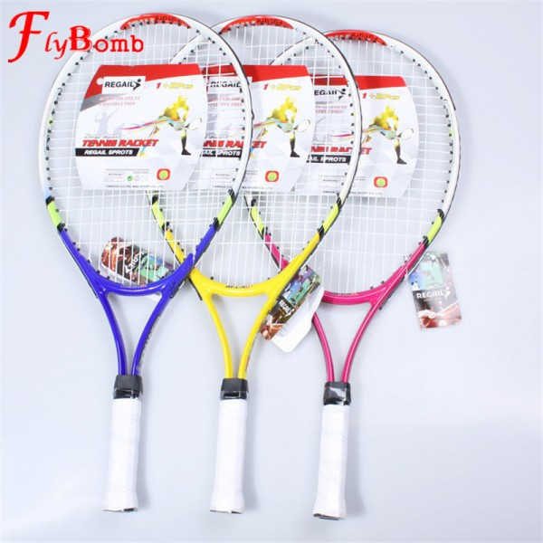 Flybomb Children Tennis Rackets Training Tenis Racquet Racket for Kids Youth with Racket Cover Bag for New Junior