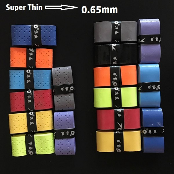 Free shipping(10pcs/lot)Pro soft/preforated/tacky feel Grips/Overgrip(use for tennis,squash Speedminton and badminton)