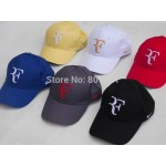 Free Shipping -RF roger federer tennis hat. tennis cap , tennis racket hat