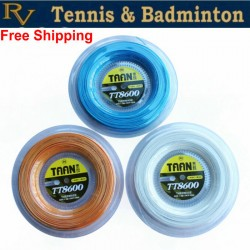 Free Shipping -  Tennis String TAAN TT8600 Reel Tennis Racket Strings Polyester string ( 200 Meters )