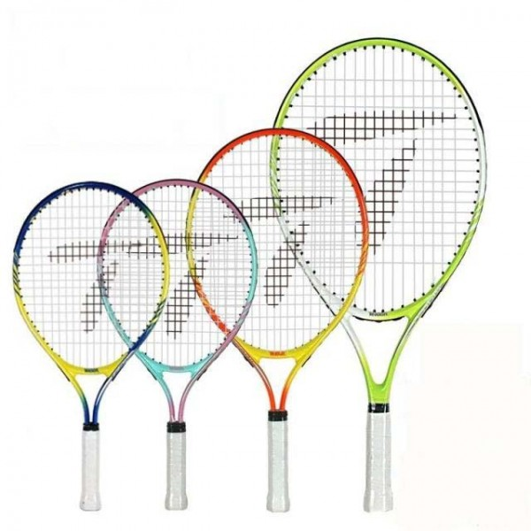 Free of shipping 17/19/21/23 inch junior tennis racquet aluminum tennis racket tennis racket for kids
