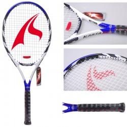 Free shipping 1 piece full 100% carbon-titanium graphite tennis racket blue color tennis racquet tennis racket 0832