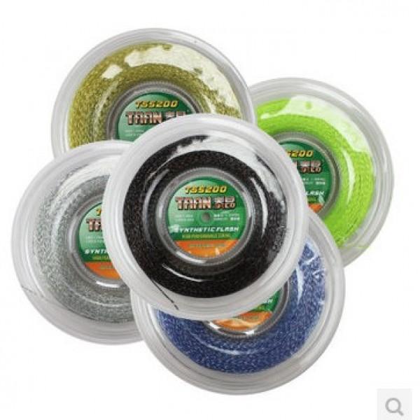 Free shipping Authentic TA Synthetic Flash TS-5200 Tennis String/Reel String(200m/reel)tennis racket/tennis racquet