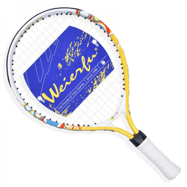 Free shipping Children Beginner amateur Training Competing Light Offensive Aluminium alloy Tennis Racket Kids Good Quality bat