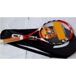 Genuine Carbon Fiber Tennis Racket Racquets Equipped with Bag L4 Tennis head Grip Size 4 1/4 raquetas de tenis Free Shipping