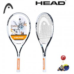 Genuine Head Super Light Ti Tour Tennis Racket Lightness 2391073 Men And Women  Raquete De Tenis  4 1/4