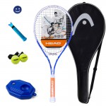 HEAD/ do men and women Beginner Tennis Racket Deyueke Signature Edition White Blue