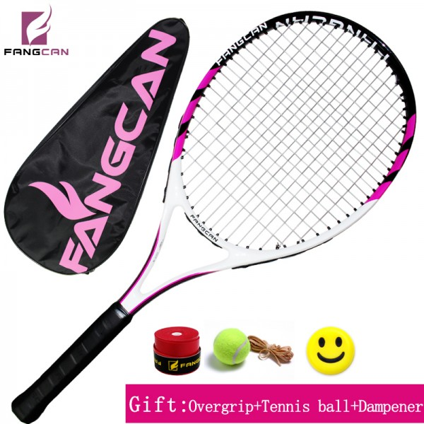 HOT! FANGCAN High Brand Tennis Racquet SUPER A6 Carbon Aluminum Composite Tennis Racket With String and Full Cover