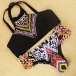 Hot Sale Beachwear Sexy Brazilian Bikini Set 2017 New Halter Tank Tops Women Swimsuit Triangle Bathing Suit Swimwear Female