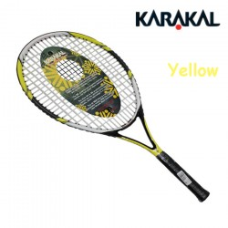 Kar Carbon Aluminum Alloy Tennis Racket High Quality Tennis Racquet With Free Bag And Tennis String Racquet De Tenis Pink Yellow