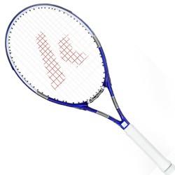 Kawasaki KAWASAKI carbon composite tennis racket K-17 blue (already threading)