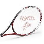 Kawasaki KAWASAKI carbon composite tennis racket K-18 red (already threading)