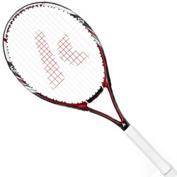 Kawasaki KAWASAKI carbon composite tennis racket K-18 red (already threading)