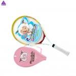 Kids 1x Tennis Racquet Plesant Goat and Big Big Wolf Children Sports Training Rackets