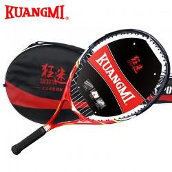Kuangmi 2016 New Masculino Tenis Raket High Quality Tennis String 5 Innovation Raquete De Tenis Raquette Tennis 1PC