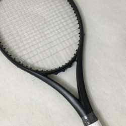 NEW customs 100% carbon fiber tennis racket Taiwan OEM quality tennis racquet 300g Nadal 100 sq.in. black racket